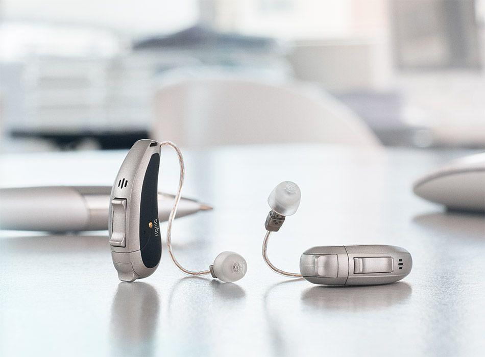 Nowoczesne aparaty słuchowe Siemens