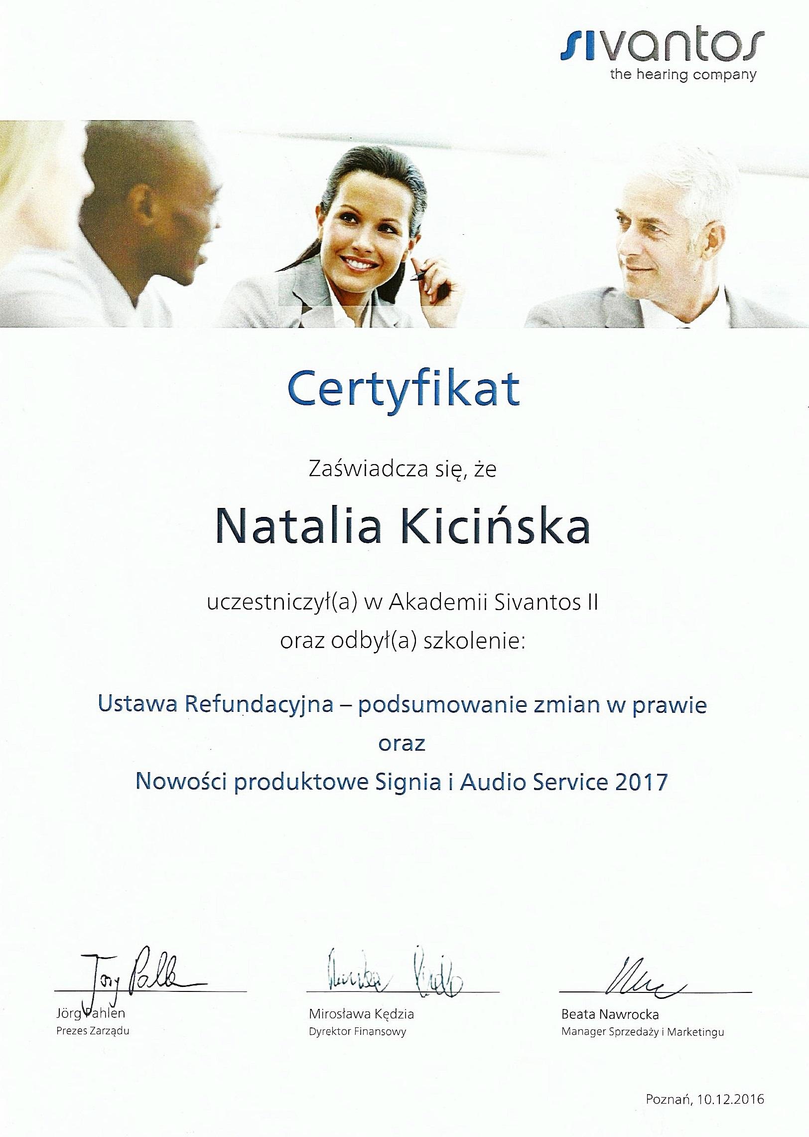 Aparaty Słuchowe firmy SIEMENS z rodziny SIGNIA